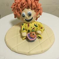 Dennis from hotel Transylvania cake topper