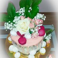 Drip cake for sweet eighteen
