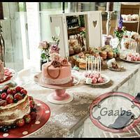 vintage sweet table