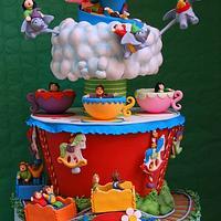 Luna park cake by LeDeliziose