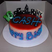 Ny City B-day cake