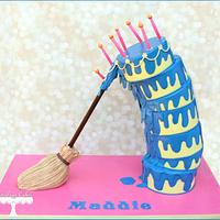 Sleeping Beauty Cake