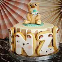 First birthday cake child