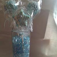 Baby Shower Cake Pops (Boy)