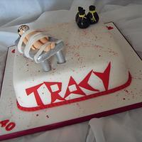 'Dexter' Themed 40th Birthday Cake
