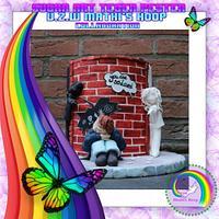 "Sugar art Tegen Pesten Vzw MATHI'S HOOP. Collaboration ""Lost"""