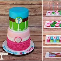 Touchdowns or Tutus Gender Reveal!