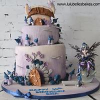 Mystical Pixie cake