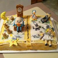 Nursery RhymeBook Cake