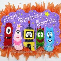 Sophie's Cupcake Cake