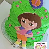 Dora 1st Birthday
