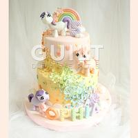 My Little Pony by Guilt Desserts