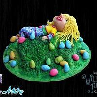 Little Sophia Bennett - William Joyce Cakes  by Shelley Redekop