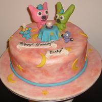 Hoops and YoYo Birthday Cake