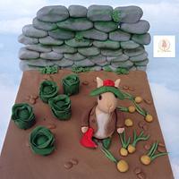 CPC Beatrix Potter cake collaboration Benjamin Bunny