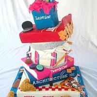 Favorite Things Wonky Cake
