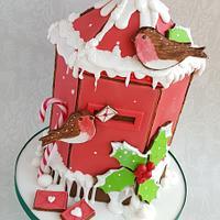 Gingebread House Challenge - Christmas post box