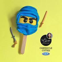Ninja Cutie Cakesicle