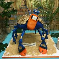 Tamatoa Birthday Cake by Cakes By Julie