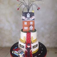 surprise birthday/new house cake