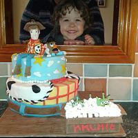 Toy Story cake by Jules