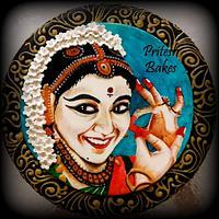 Bharatanatyam Cake