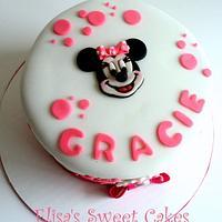 Minnie Cute Cake