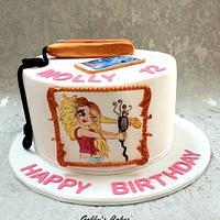 Young girl cake