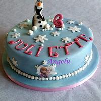 Olaf - Frozen cake
