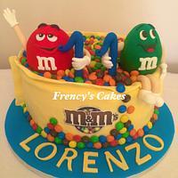 M&m's Cake