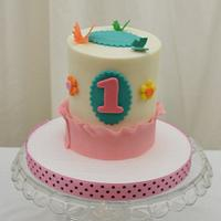 Little Butterfly Smash Cake