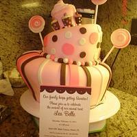 Topsy Turby Cake