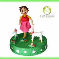 Cake Topper Heidi