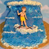 Surfer cake by Carol