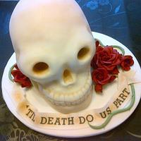Skull Cake.