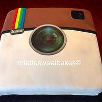 Instagram Birthday Cake