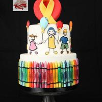 Crayons with Love - Collaboration Amore - a heart for children