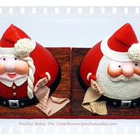 Merry Christmas From Santa And Mrs Claus!
