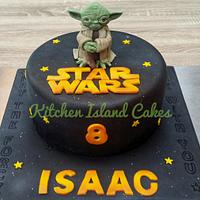 Star Wars Yoda Cake