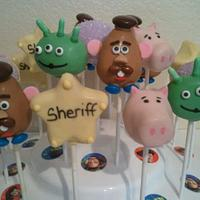 Toy Story Cakepops