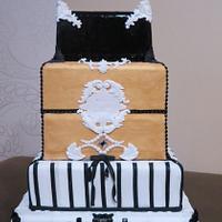 barroco wedding cake