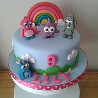 Moshi monster birthday cake
