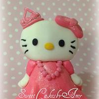 Hello Kitty pink Princess cake