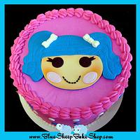 LaLa loopsy buttercream cake