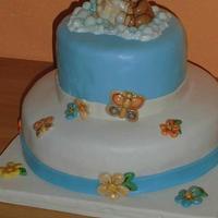 cake angel and teddy bear thun