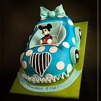 "Cake ""Machine Mickey Mouse"""
