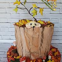 fondant cake-toppers sweet autumn collaboration
