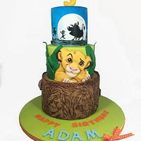 Icing Smiles - Lion King cake