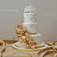 Winter Gold Wedding