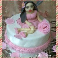 cake for a girl named rose